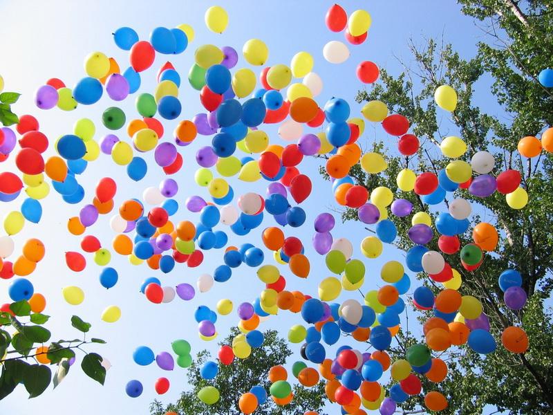 оформление шарами в Ярославле