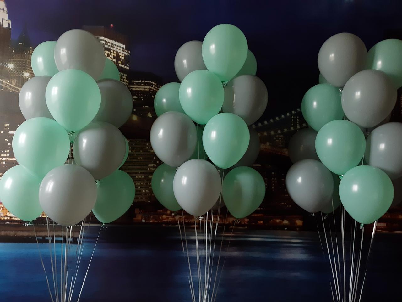как красиво связать воздушные шарики фото кастрюлю